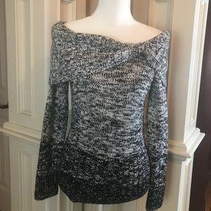 White House Black Market off the shoulder sweater